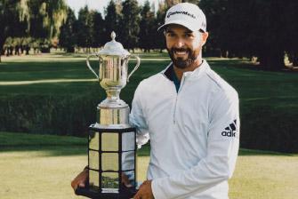 Marc-Étienne Bussières, Champion PGA du Canada 2016